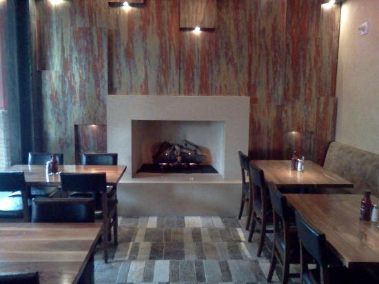 Wood Ranch BBQ & Grill: Cozy Fireplace Dining (Irvine) - Bar At The Wood Ranch (Irvine) - Picture Of Wood Ranch BBQ & Grill