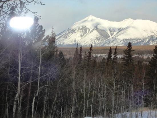 Snowy Mountain Outfit : View from Bedroom
