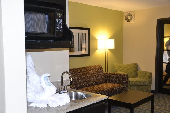Holiday Inn Express & Suites: King Deluxe Suite