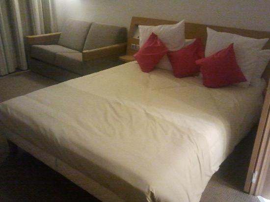 Novotel Mohamed V : King size bed