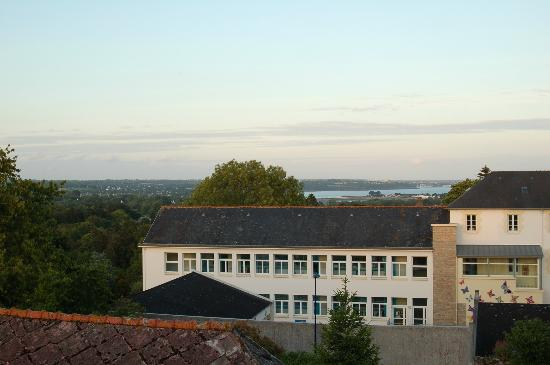 Hotel l'Oree du Bois : vistas desde ventana
