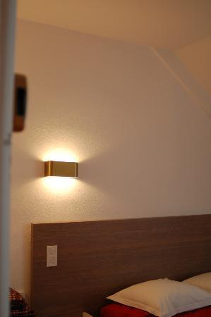 Hotel l'Oree du Bois: no me da el ángulo, bajo cubierta