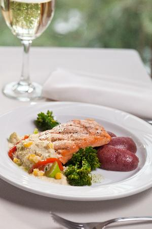 Tarragon at The Inn at Honey Run : Our popular salmon entree