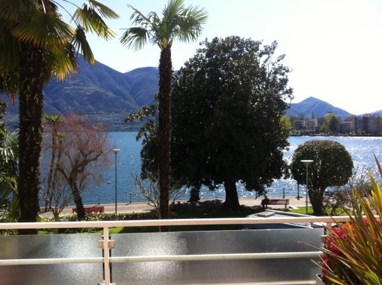 H+ La Palma Hotel & Spa Locarno: lake view