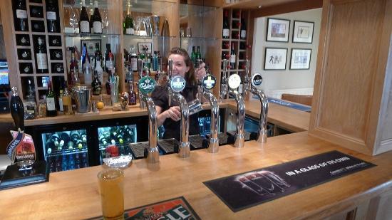 The Bedingfeld Arms: The Oak Bar
