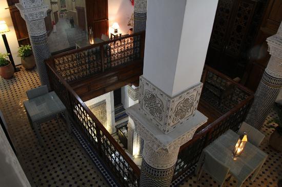 Vue intérieure de la Riad Adarissa