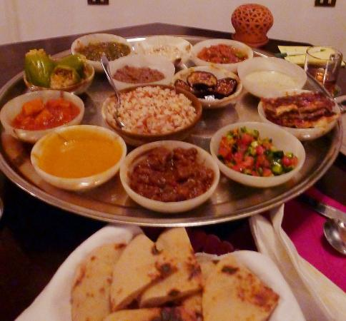 Mara House: Our 15-course Feast of Salahadeen at Mara's restaurant