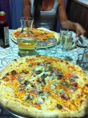 Il Bacio : la pizza