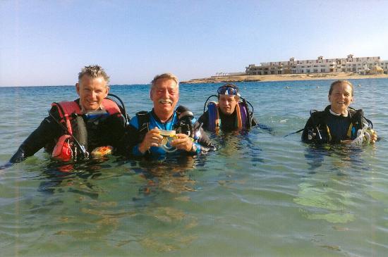 Coral Garden Resort and Dive Centre: Rückkehr nach einem schönen Tauchgang