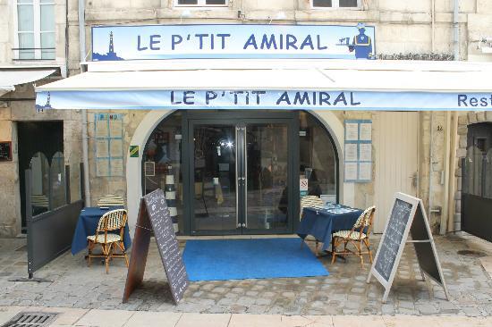 Le P'tit Amiral: facade