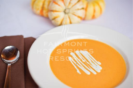 Mountain Flowers at Fairmont Hot Springs Resort : Warm up on a cold day with some savoury soup