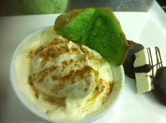 Twisted Fork: home made cinnamon ice cream