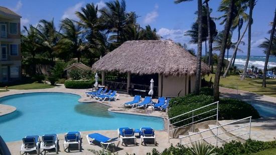 Cabarete East Beachfront Resort: View from Balcony C202