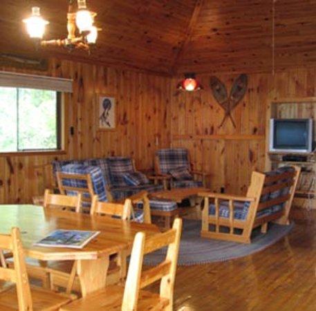 Viva Villa Cottage Resort: The Doe cottage living room