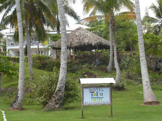 Hotel Todoblanco : Pavillon with hommocks