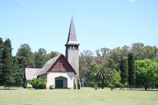 Estancia La Candelaria: capilla