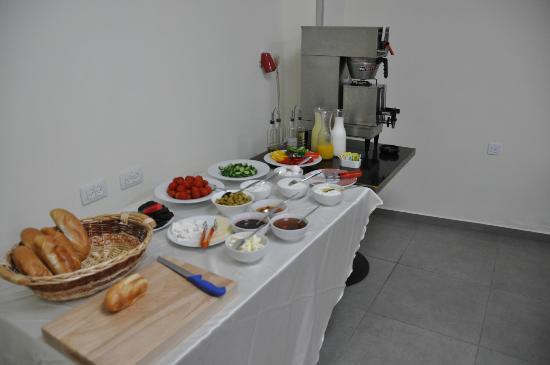 Villa Nazareth Hotel: la colazione a buffet