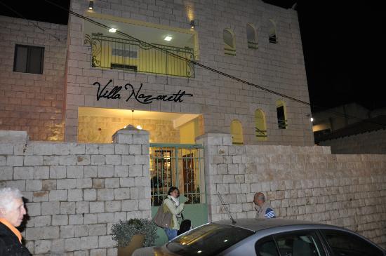 Villa Nazareth Hotel: il nostro arrivo!