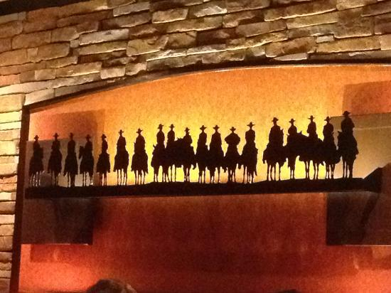 LongHorn Steakhouse: Wall art