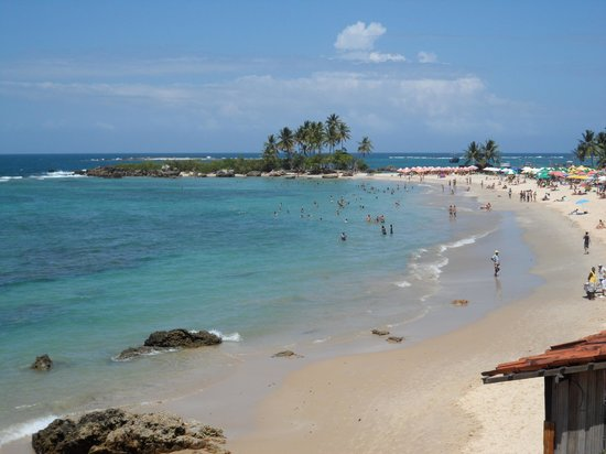 Segunda Praia Beach: Hermosa playa, parece una postal desde donde la mires