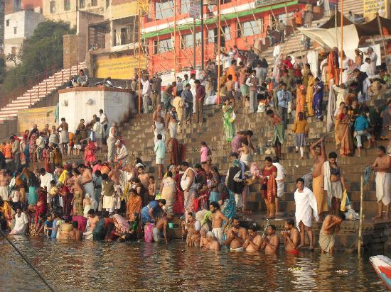 Varanasi, India: Mistico, MIstico, paseo por el Rio Ganges