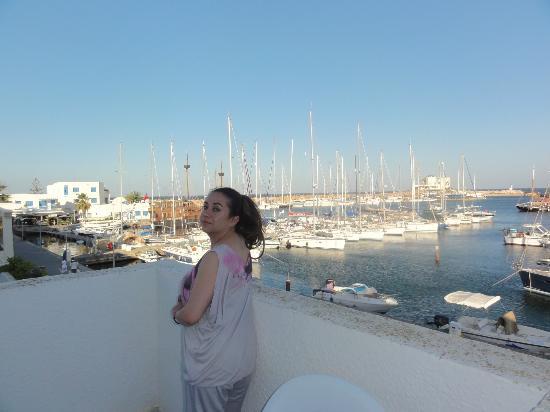 Marina Cap Monastir Apart'hotel: Amazed by the wonderful view!