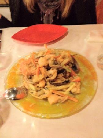 Osteria Antico Giardinetto: frittura di pesce (da prendere assolutamente)