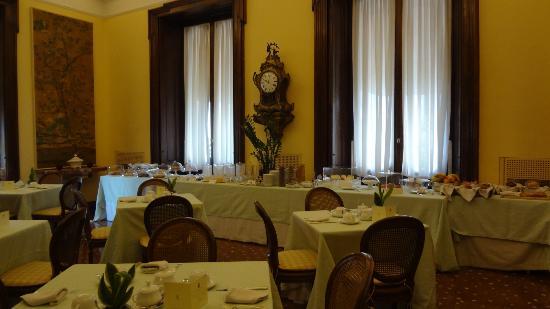 Villa Spalletti Trivelli: Salle des petits déj