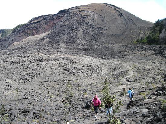 Kilauea Iki Trail: Lava mounds
