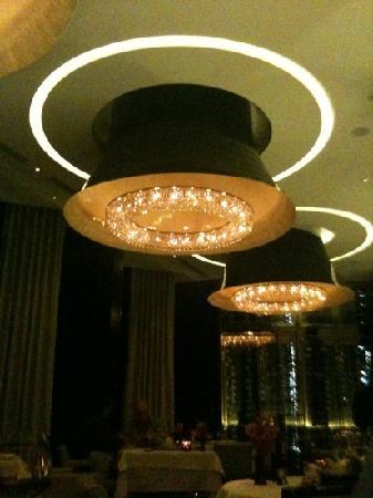 Rhodes Twenty10: beautiful crystal chandeliers