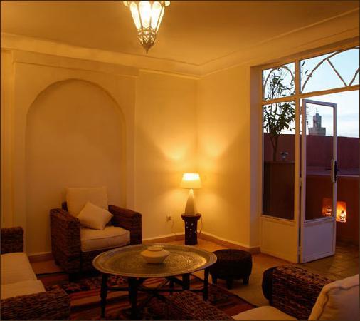 Riad alboraq b b marrakech maroc voir les tarifs 285 for Salon zen rabat tarifs