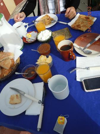 Riad Dar Nakhla: breakfast