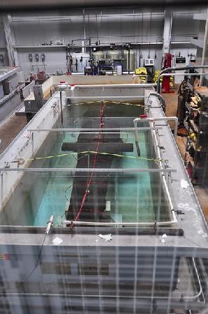 Newport News, VA: Cannon in desalination tank