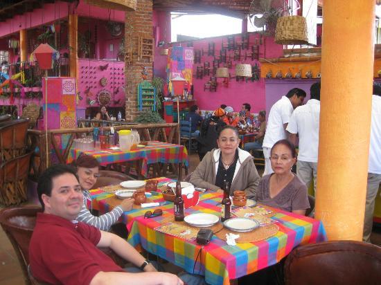 Pyramids of Tepoztlan: colorines restaurant