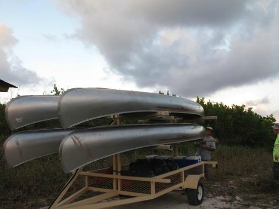 Mexico Silvestre Cozumel Wilderness Outfitter - Day Tours: The canoes