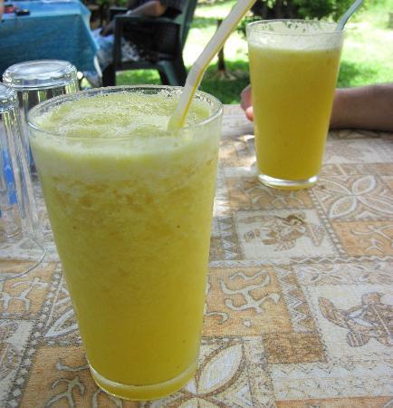 Snack Mahana: Super fresh pineapple juice