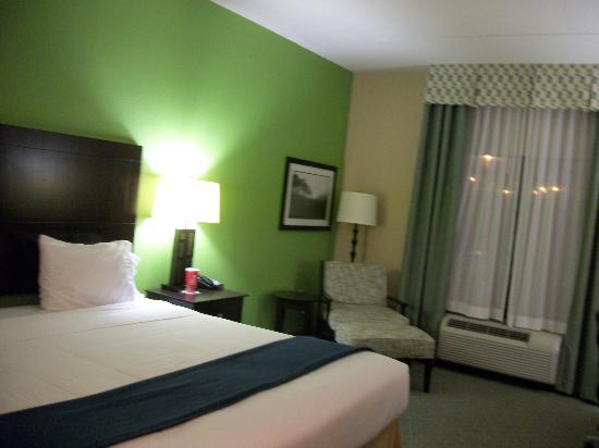Holiday Inn Express Hotel & Suites Newport South : Our room.