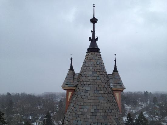 Henderson Castle Inn: This is another view from the rooftop hot tub.