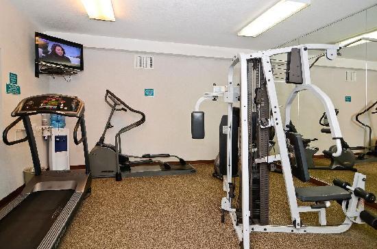 BEST WESTERN PLUS Walla Walla Suites Inn: Exercise Room