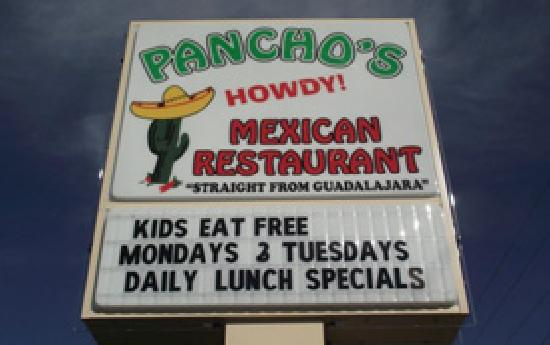 Pancho's Mexican Restaurant: Pancho's
