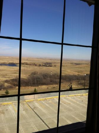 Prairie Knights Casino & Resort: Out Rear Hotel Window