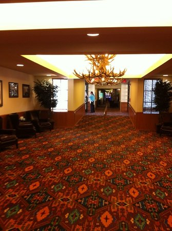Fort Yates, ND: Lobby of new wing.