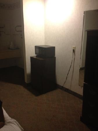 Ranger Inn & Suites: microwave and fridge