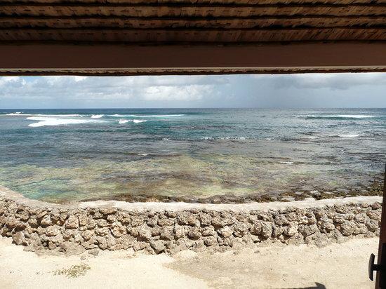 Efate, Vanuatu: Vue du bungalow