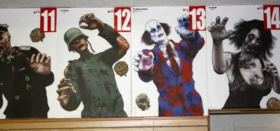 The Gun Store: Zombie targets