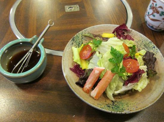Asakusa Imahan Kokusai Dori Honten: salad