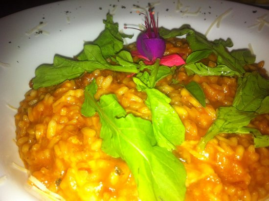 Quitinete : Excellent fresh solid portion of risotto