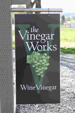 The Vinegar Works at Valentine Farm : Front Gate