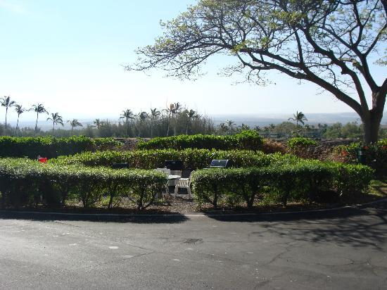 Aston Shores at Waikoloa: 18 Weber barbaques scattered through the grounds, great places to visit people