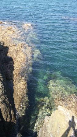 Suhara Onsen : 栖原海岸~透明度の高い海岸線